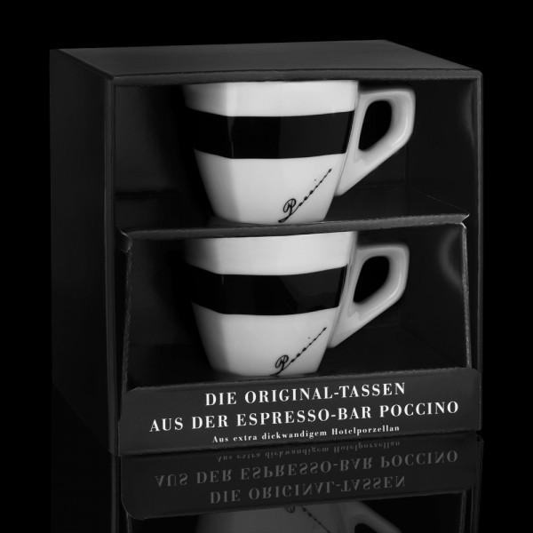 Di POCCINO Espresso-Tasse 2er Geschenkset