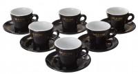 Vorteilspreis! OPUS ONE Cappuccino-Tassen 6er Pack