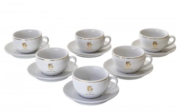 Vorteilspreis! CLUB di POCCINO Caffe-Latte-Tassen 6er Pack