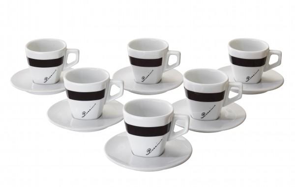 Vorteilspreis! Di POCCINO Cappuccino-Tassen 6er Pack