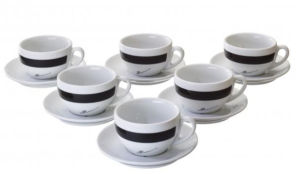 Vorteilspreis! Di POCCINO Caffe-Latte-Tasse 6 er Pack