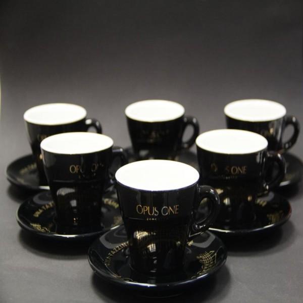 Vorteilspreis! OPUS ONE Espresso-Tassen 6er Pack