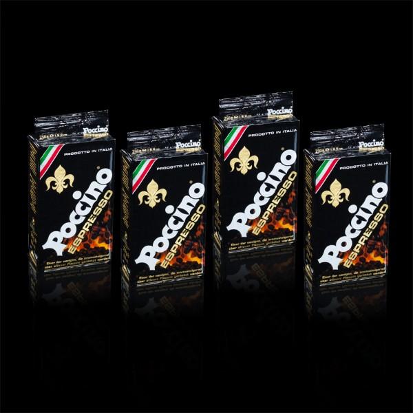 Vorteilspreis! POCCINO Espresso Classico 12 x 250g gemahlen