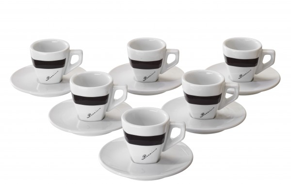 Vorteilspreis! Di POCCINO Espresso-Tasse 6er Pack
