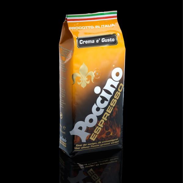 Vorteilspreis! POCCINO Espresso Crema e' Gusto 6 x 1000g Bohnen