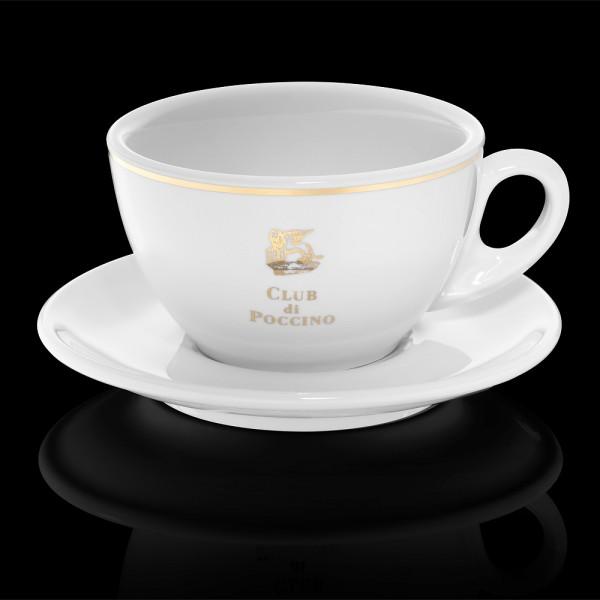 CLUB di POCCINO Caffe-Latte-Tasse