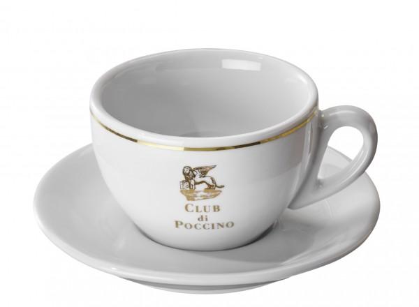 CLUB di POCCINO Cappuccino-Tasse