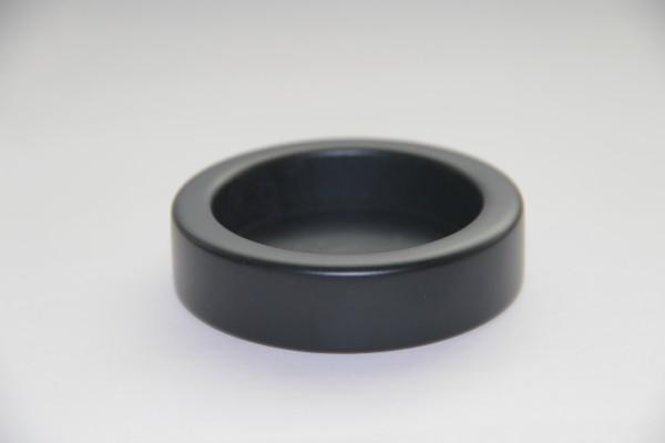 Tamper - Halter Holz Schwarz 55mm